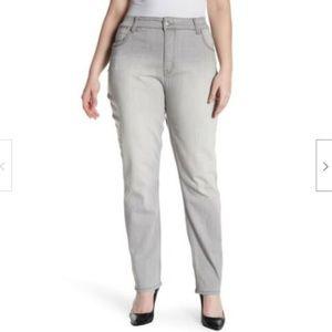 Melissa McCarthy Seven7 Skinny Triple Needle Jean